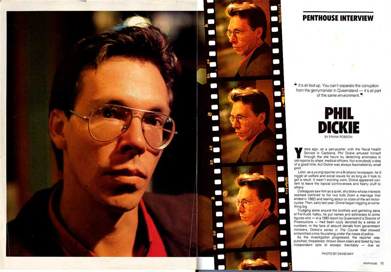 The Penthouse Interview, November 1987